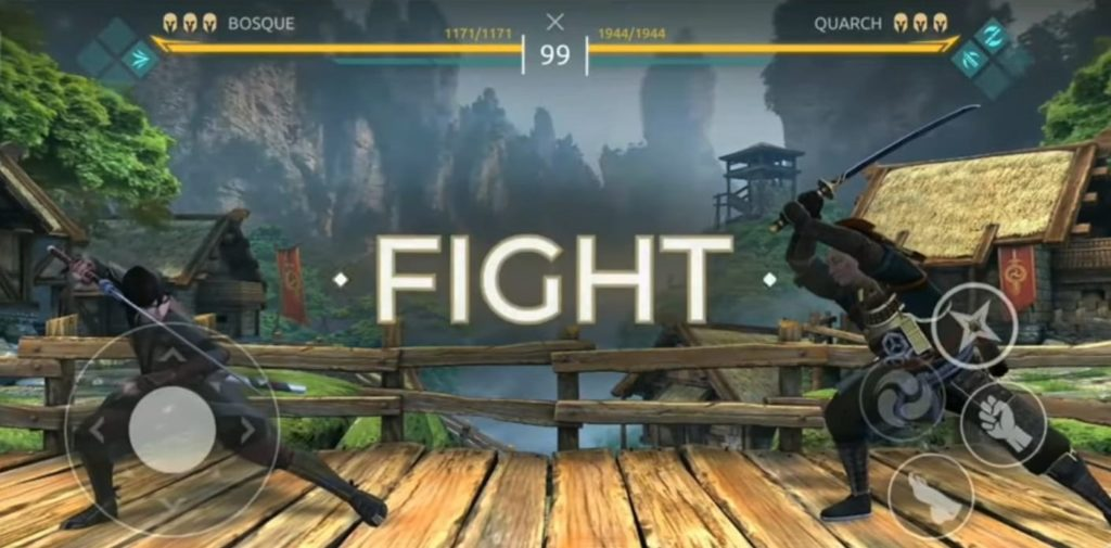 Shadow Fight Arena mobile release