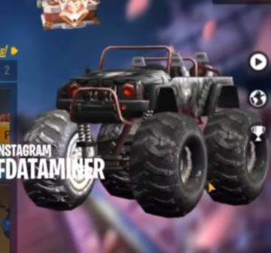 Free Fire Season 26 leaks monster truck