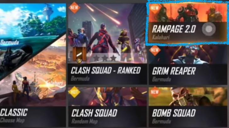 Free Fire Season 26 leaks Rampage  Mode