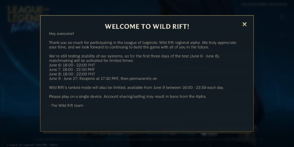 how to download and play wild rift, wild rift alpha