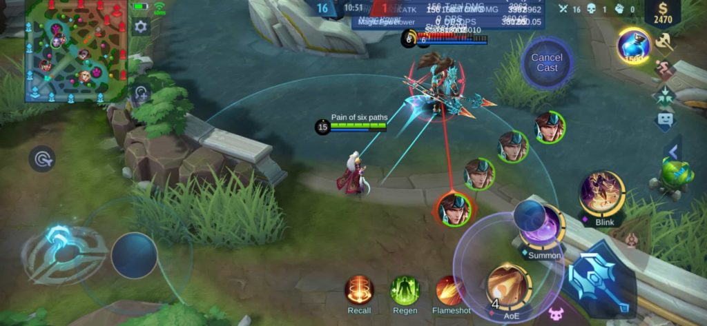 Mobile Legends Luo Yi guide Dispersion