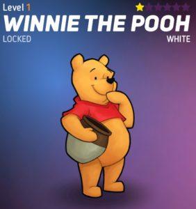 Disney Heroes Pooh in top 10 heroes