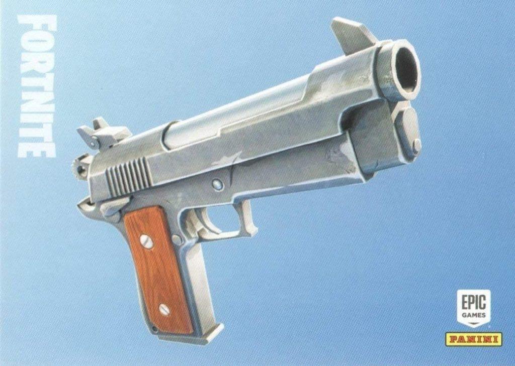 Fortnite Mobile legendary pistol
