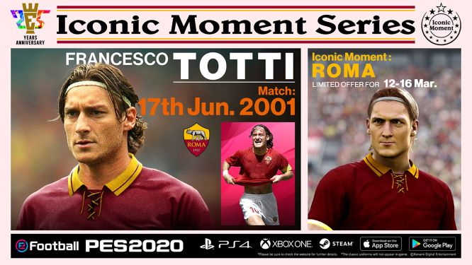 Roma Iconic Moments: Totti