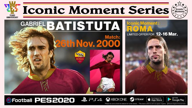 Roma Iconic Moments: Batistuta