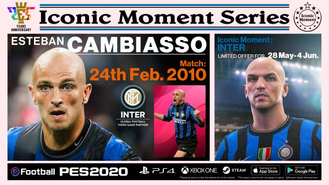 Inter Milan Iconic Moment Cambiasso