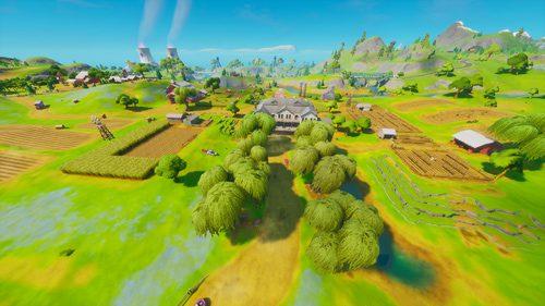 Best loot locations in Fortnite Mobile season 3, Best Landing places in Fortnite Mobile season 3, Frenzy Farm in Fortnite