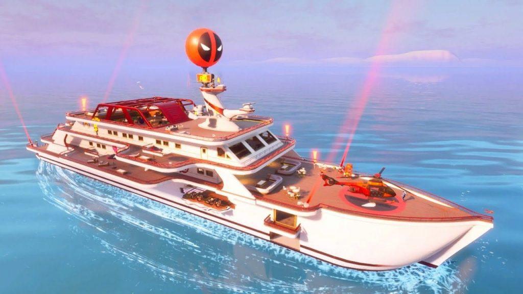 Best loot locations in Fortnite Mobile season 3, Best Landing places in Fortnite Mobile season 3, The Yacht