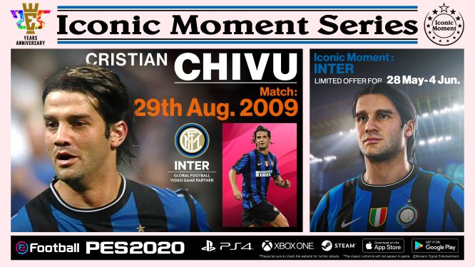 Inter Milan Iconic Moment Chivu