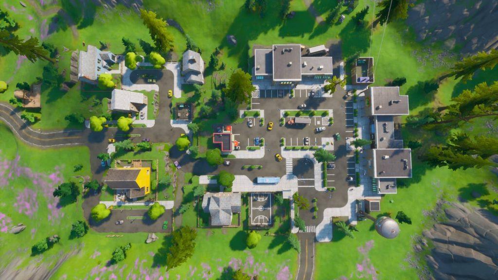 Best loot locations in Fortnite Mobile season 3, Best Landing places in Fortnite Mobile season 3, Retail Row