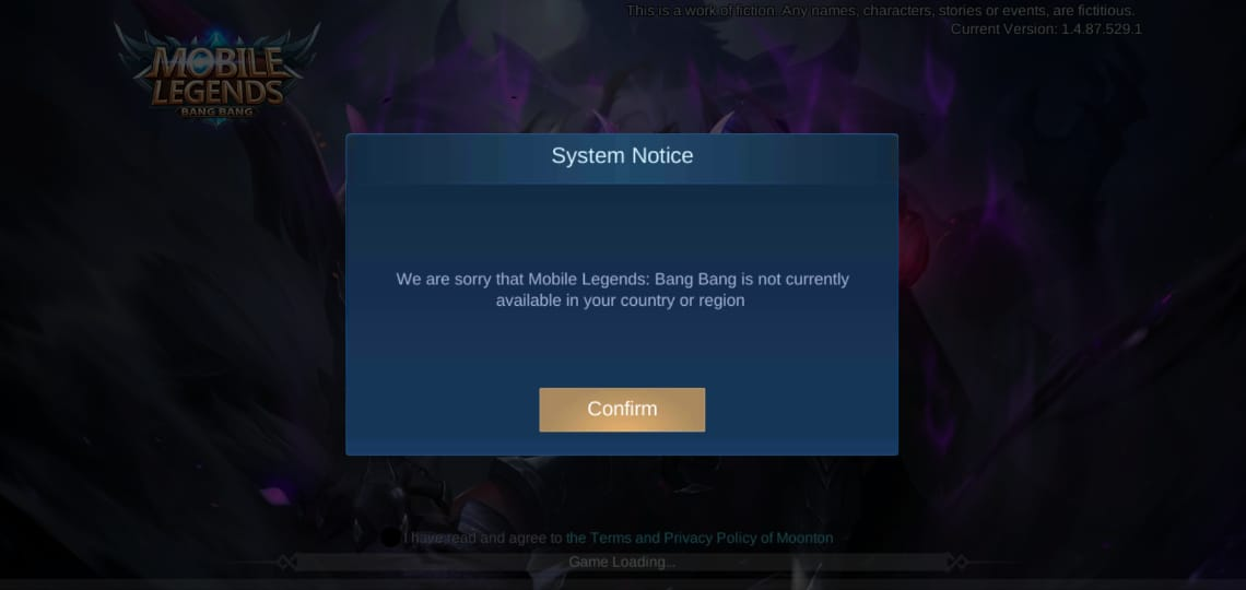 mobile legends ban in india, how to play mobile legends in India after ban