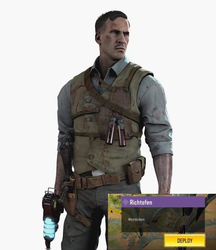 COD Mobile Edward Richtofen