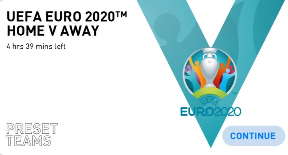 Euro 2020 Matchday in PES