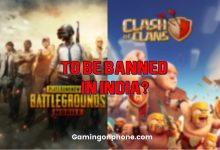 PUBG Mobile Clash of Clans ban in India