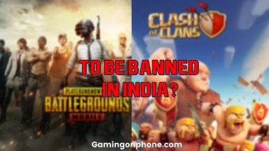 Photo of 275 Apps including PUBG Mobile and Clash of Clans are being considered for ban in India