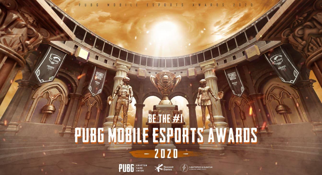 PUBG Mobile Esports Award 2020