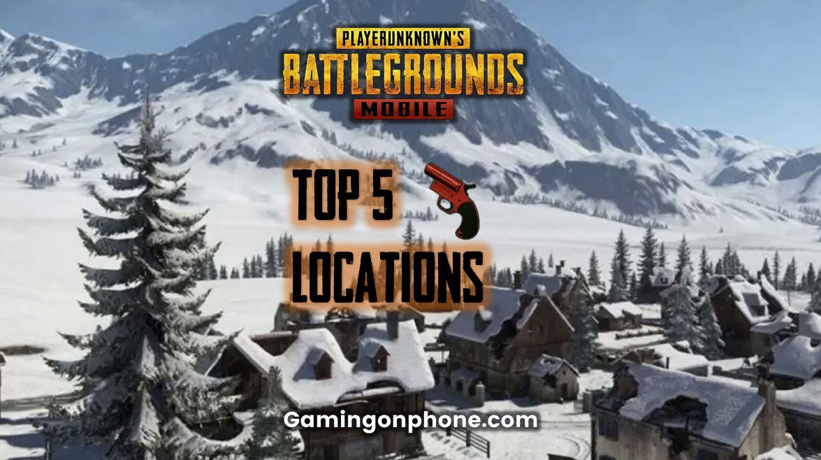 Pubg Mobile Top 5 Flare Gun Locations In Vikendi