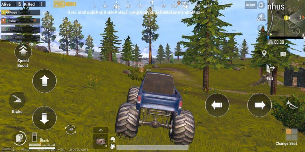PUBG Mobile livik map features Monster Truck