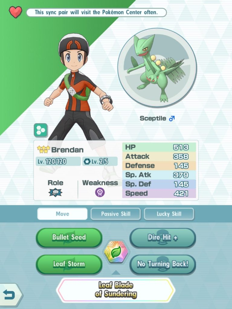 Sync Pairs in Pokemon Masters