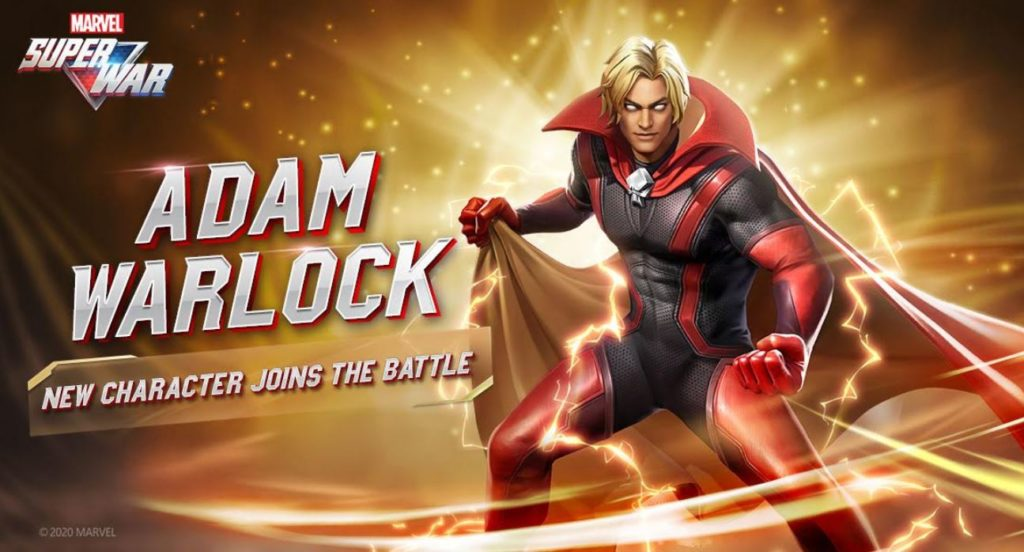 adam warlock msw, adam warlock, marvel super war, MARVEL Super War Season 3
