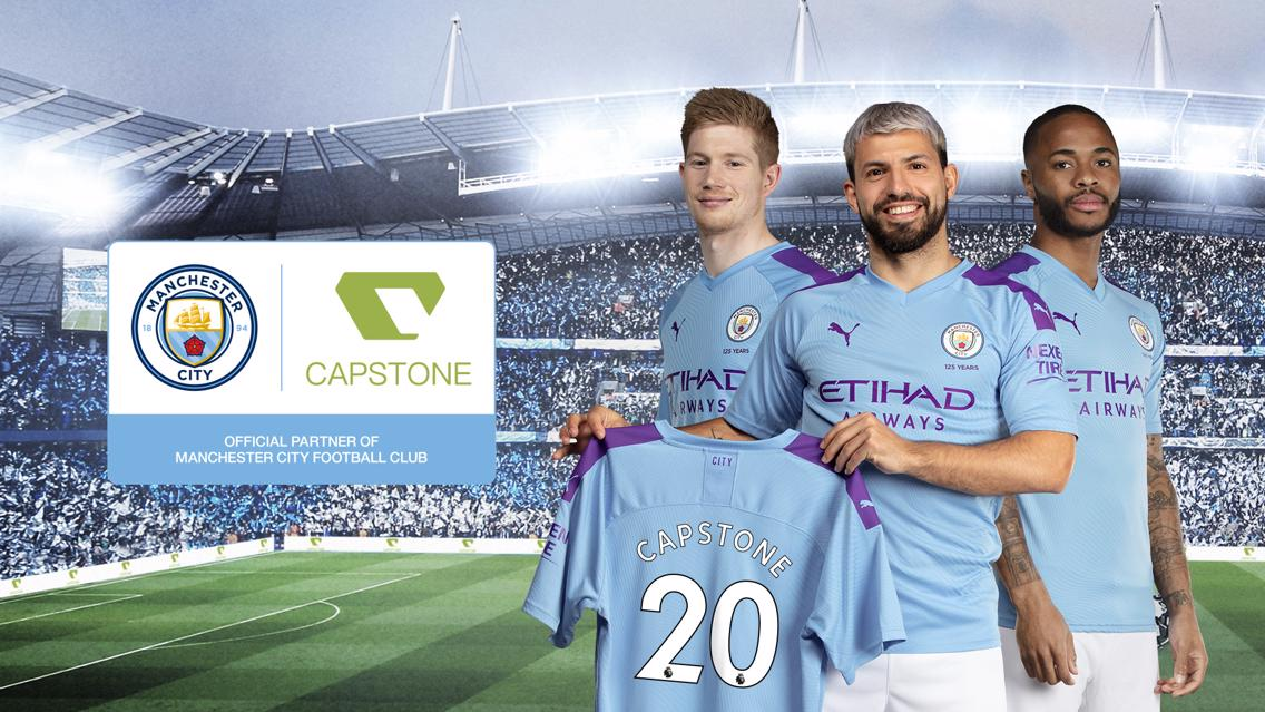 Manchester City Capstone Games partnership