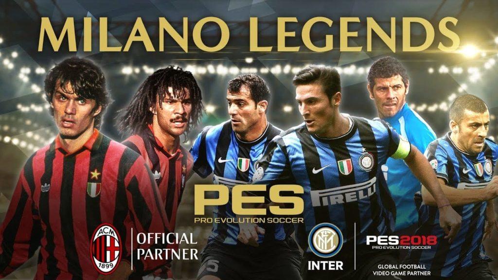 Konami AC Milan Inter Milan license