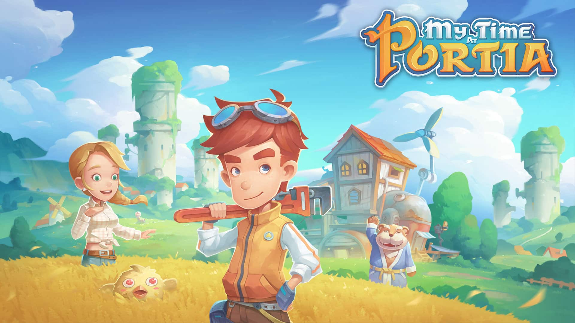 My Time at Portia coming to mobile