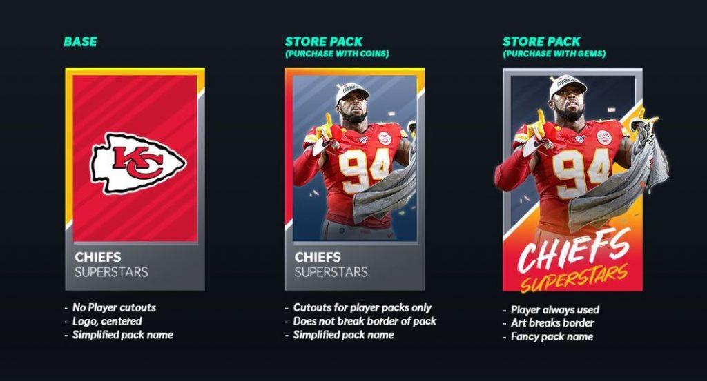 Madden NFL 21 Mobile packs