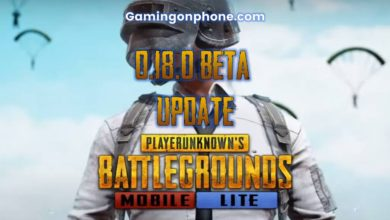 PUBG Mobile Lite 0.18.0 Beta