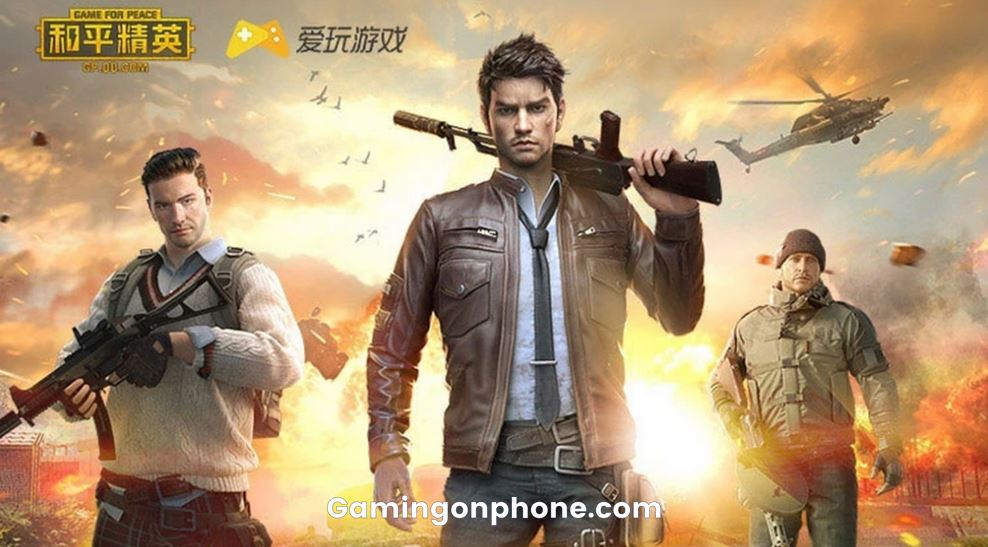 PUBG Mobile Chinese Version, game for peace control in-app spending