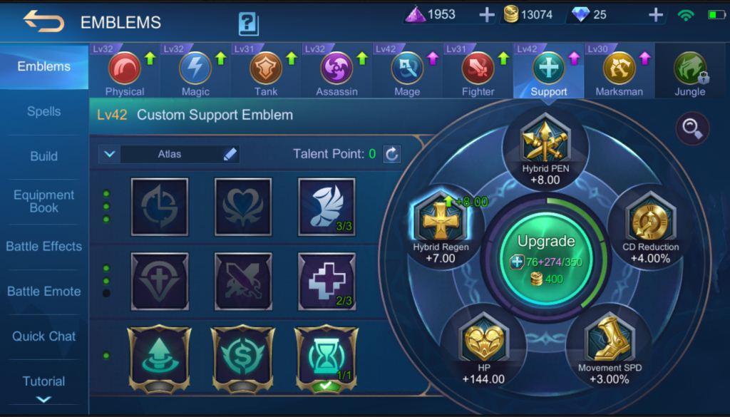 Mobile Legends Valir Guide Emblem