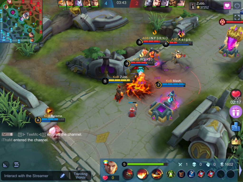 Early Game with Valir in Mobile Legends