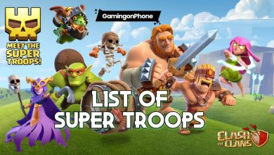 Clash of Clans Super Troops