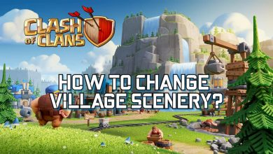 Change the home village scenery in Clash of Clans