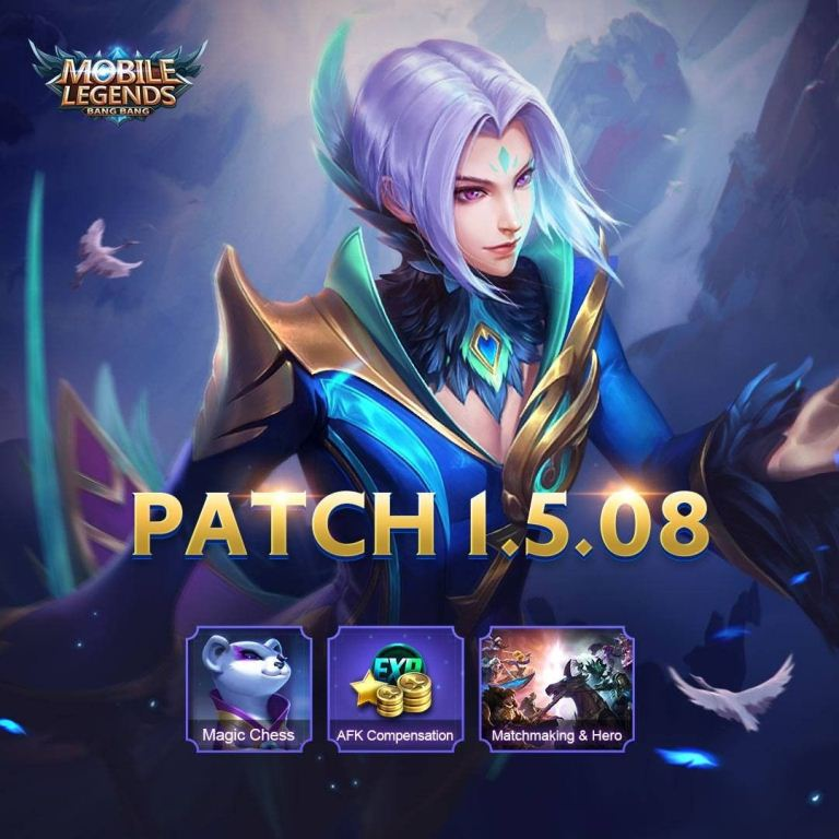 Mobile Legends Patch Update 1.5.08