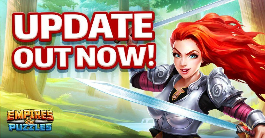Empires & Puzzles new update
