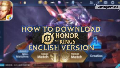 Photo of How to download Honor of Kings or King of Glory English version