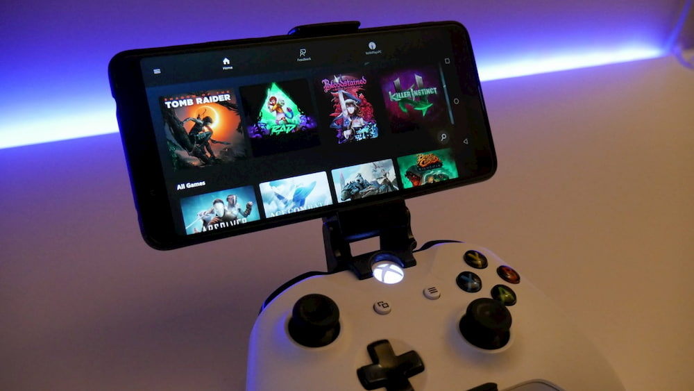 Play games on android with xCloud
