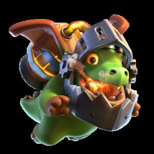Clash of Clans - Inferno Dragon
