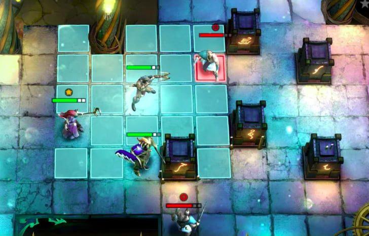 Warhammer Quest: Silver Tower pre-registration battle scenes