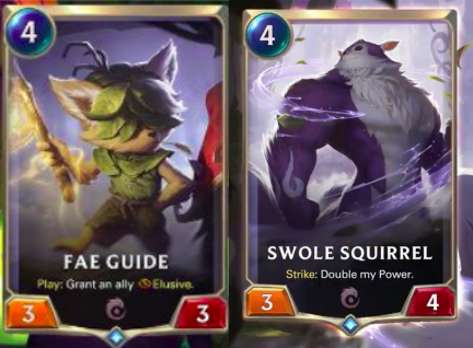 Legends of Runeterra Call of the Mountain cards