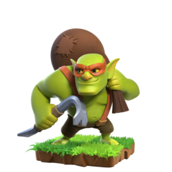 Clash of Clans -Sneaky Goblin