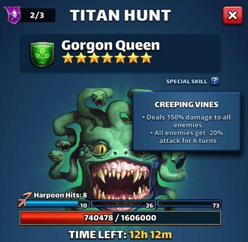 Empires & Puzzles: Titans Special Skills