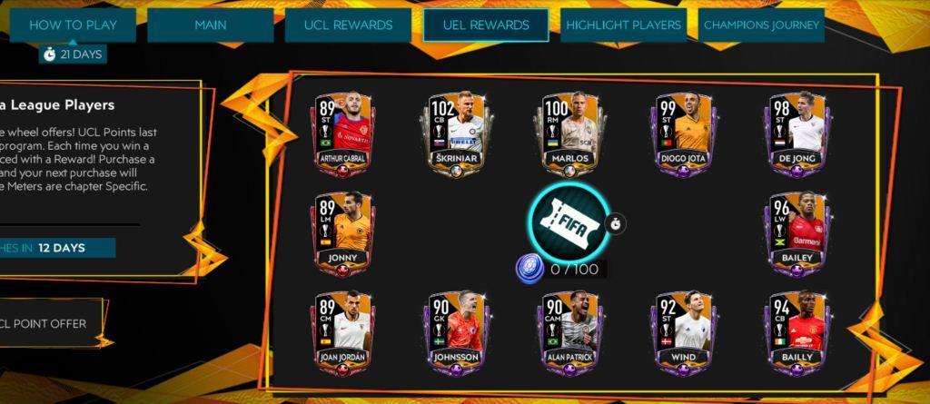 FIFA Mobile 20 Champions League Finals