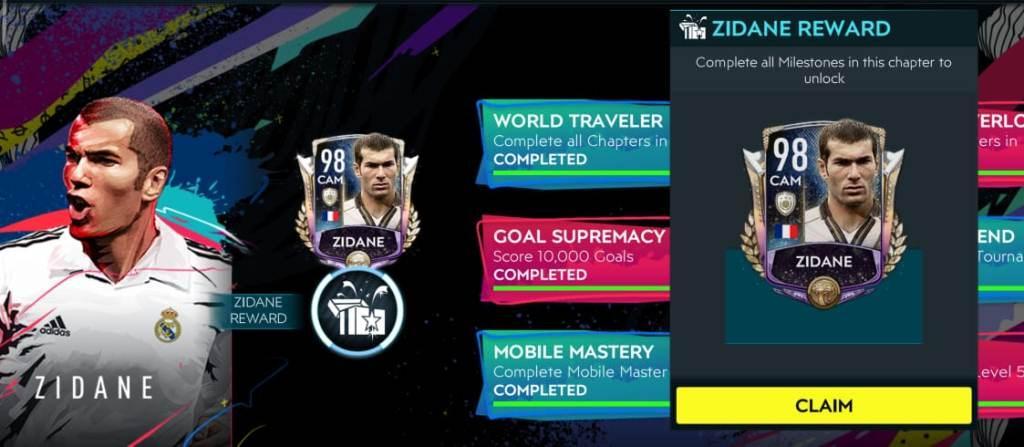 FIFA Mobile 20 Zidane Campaign
