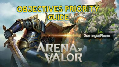 Photo of Arena of Valor Objectives Priority Guide