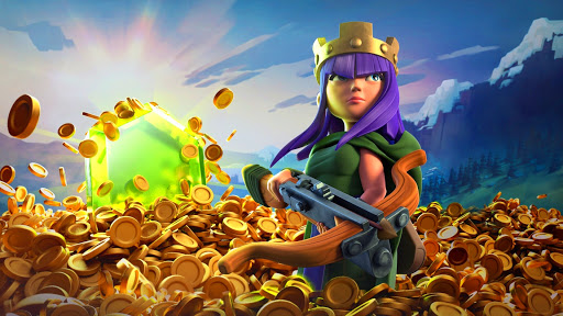 coc, coc how to loot, coc archer queen