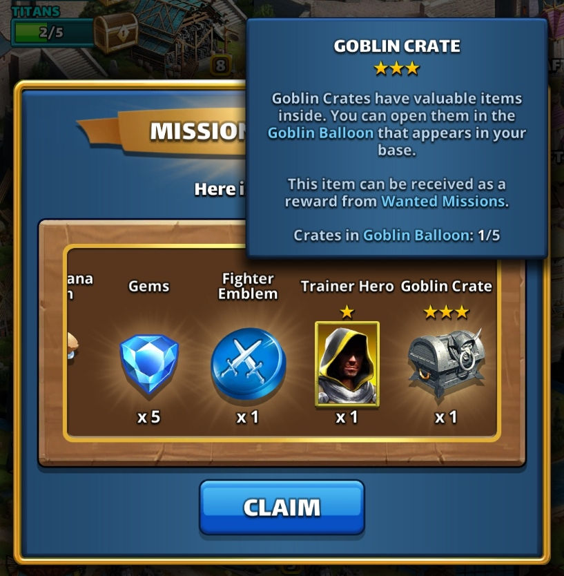 Wanted Chest with Goblin Crate
