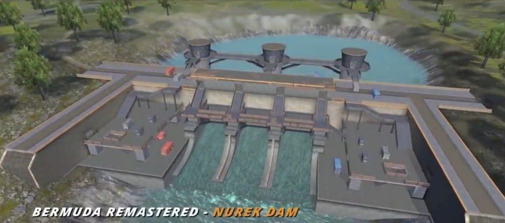 Bermuda Remastered - Nurek Dam