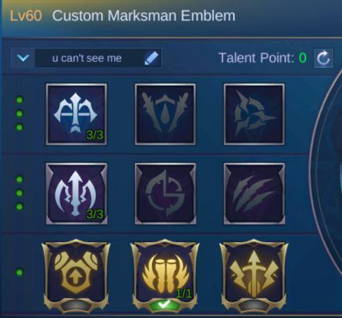 Mobile Legends Lesley Guide Emblem1